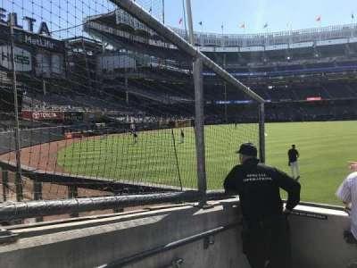 Yankee Stadium, vak: 136, rij: 5, stoel: 24