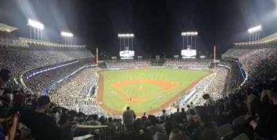 Dodger Stadium, vak: 4RS, stoel: 1