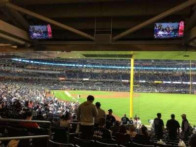 Yankee Stadium, vak: 108, rij: 19, stoel: 18