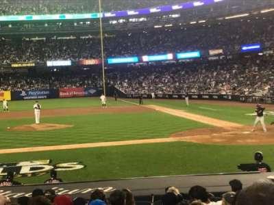 Yankee Stadium, vak: 123, rij: 3, stoel: 5