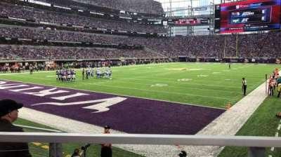 U.S. Bank Stadium, vak: 116, rij: 6, stoel: 10