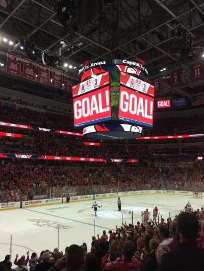 Capital One Arena, vak: 120, rij: O, stoel: 5