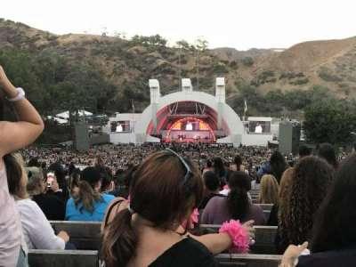 Hollywood Bowl, vak: M2, rij: 20, stoel: 117