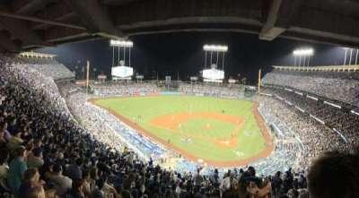 Dodger Stadium, vak: 7RS, rij: U, stoel: 1