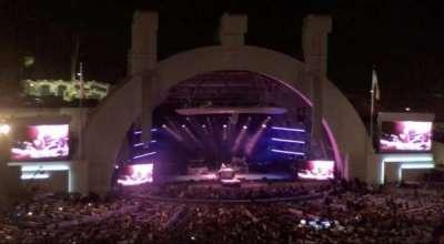 Hollywood Bowl, vak: N3, rij: 21, stoel: 11