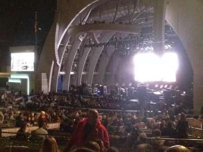 Hollywood Bowl, vak: D, rij: 6, stoel: 26