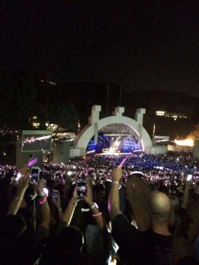 Hollywood Bowl, vak: P2, rij: 20, stoel: 118