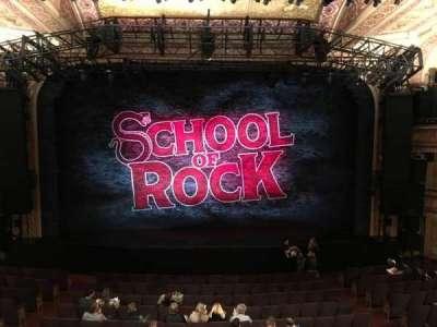 Winter Garden Theatre, vak: Center Mezzanine, rij: A, stoel: 110