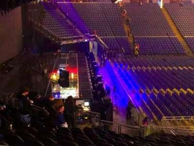 The O2 Arena, vak: 118, rij: ZZ, stoel: 8