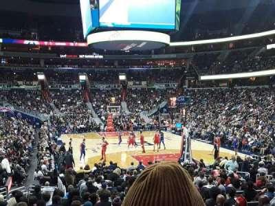 Capital One Arena, vak: 104, rij: P, stoel: 16