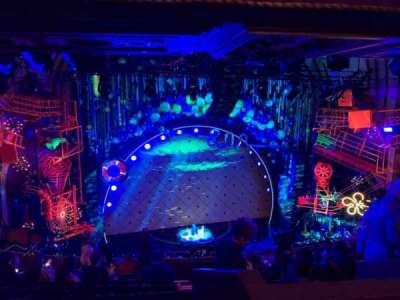 Palace Theatre (Broadway), vak: Rear Mezz, rij: L, stoel: 121