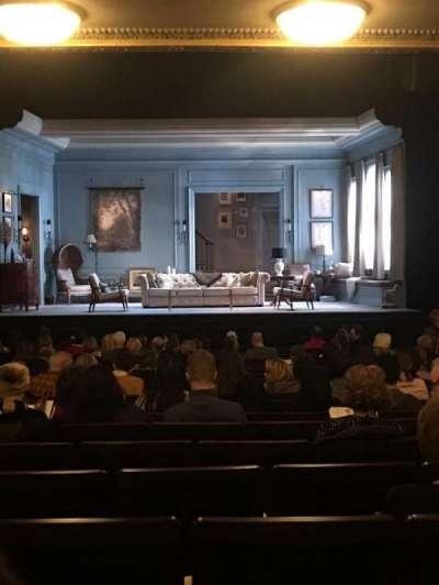 Hudson Theatre, vak: Orch, rij: S, stoel: 110