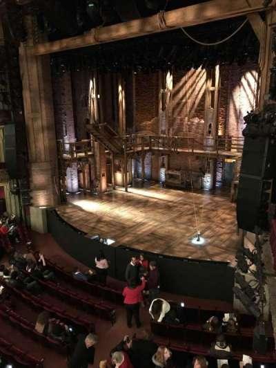 CIBC Theatre, vak: Mezzanine-R, rij: A, stoel: 12