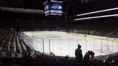 Jacksonville Veterans Memorial Arena, vak: 110, rij: N, stoel: 12