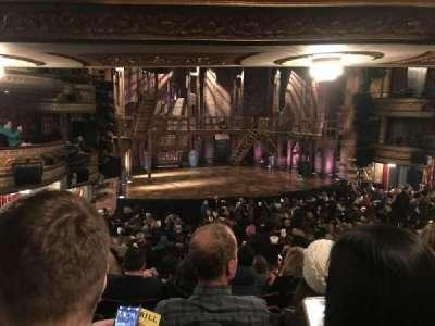 Richard Rodgers Theatre, vak: Orchestra, rij: S, stoel: 17