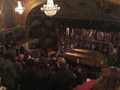 Richard Rodgers Theatre, vak: Rear Mezzanine, rij: G, stoel: 12