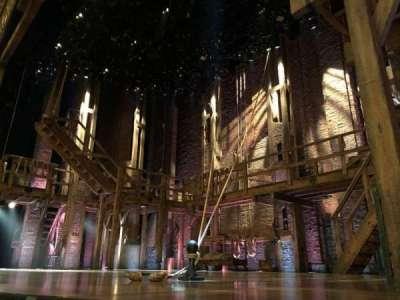 Richard Rodgers Theatre, vak: Orch, rij: CC, stoel: 8
