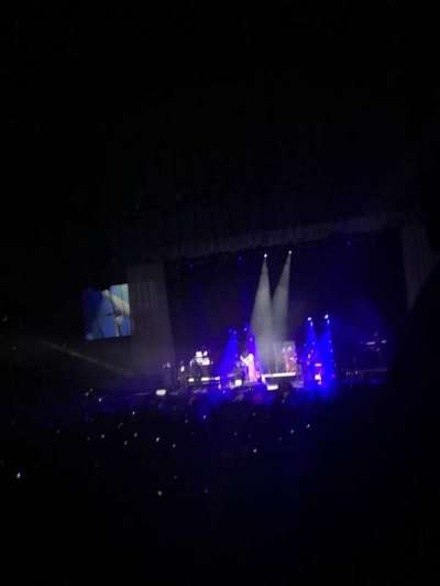 Royal Farms Arena, vak: 116, rij: L, stoel: 1