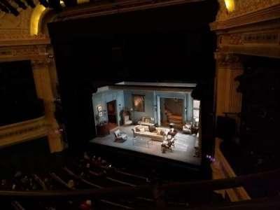 Hudson Theatre, vak: Balcony, rij: A, stoel: 10