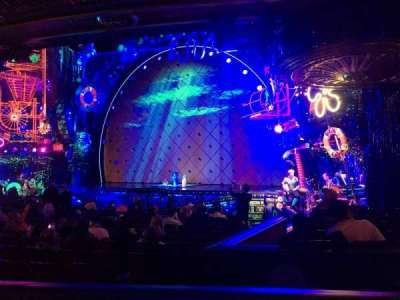 Palace Theatre (Broadway), vak: Orchestra, rij: O, stoel: 8