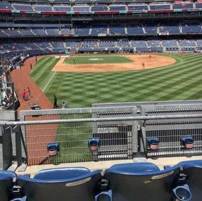 Yankee Stadium, vak: 206, rij: 3, stoel: 1