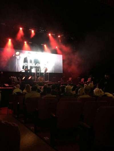Chicago Theatre, vak: MNFL3L, rij: GG, stoel: 301