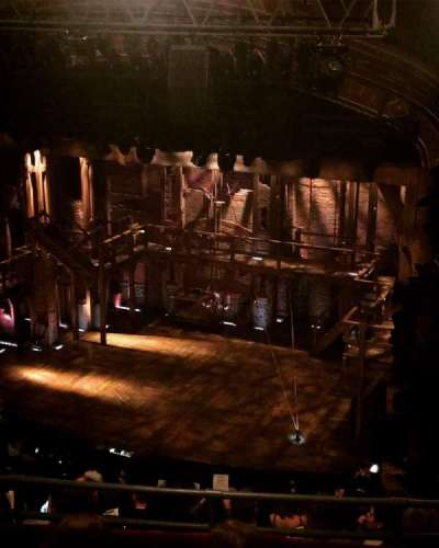 Richard Rodgers Theatre, vak: Rear Mezzanine, rij: D, stoel: 28