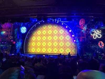 Palace Theatre (Broadway), vak: Orch center, rij: S, stoel: 124