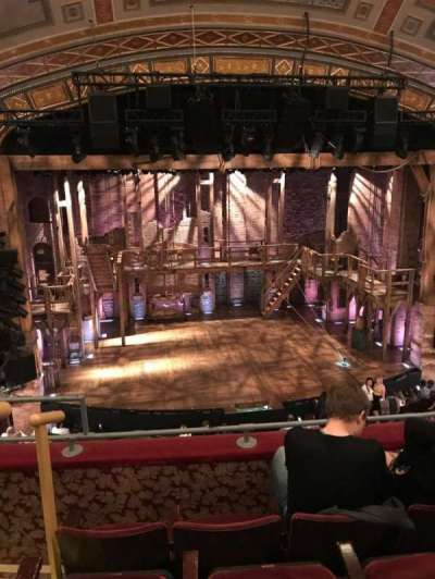 Richard Rodgers Theatre, vak: L Mezz, rij: D, stoel: 113