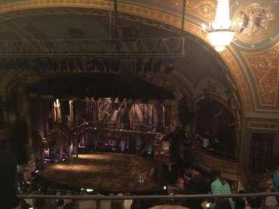 Richard Rodgers Theatre, vak: Rear Right Mezz, rij: B, stoel: 16