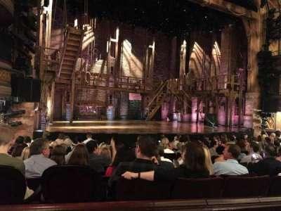 Richard Rodgers Theatre, vak: Orchestra, rij: L, stoel: 13