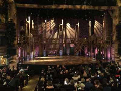 Richard Rodgers Theatre, vak: Center orchestra, rij: O, stoel: 113