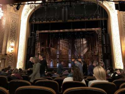 The Paramount Theatre, vak: MF2, rij: U, stoel: 3