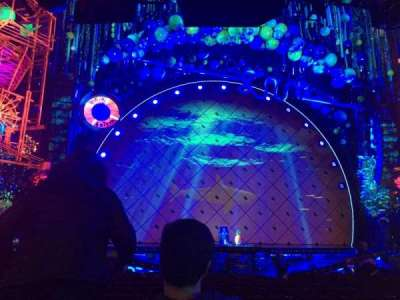 Palace Theatre (Broadway), vak: Orch, rij: O, stoel: 109
