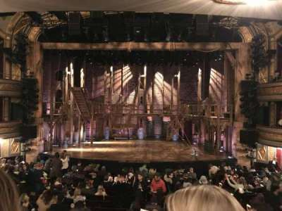 Richard Rodgers Theatre, vak: Orchestra, rij: Q, stoel: 105