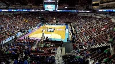 Intrust Bank Arena, vak: 208, rij: A, stoel: 16