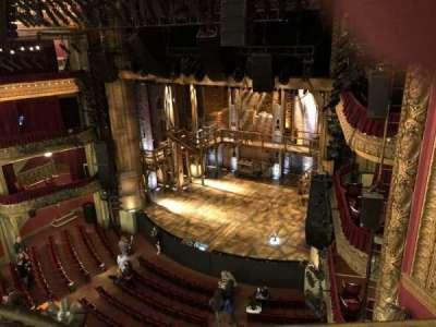 CIBC Theatre, vak: Balcony, rij: A, stoel: 14