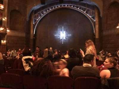 Lyric Theatre, vak: ORCH, rij: Q, stoel: 10