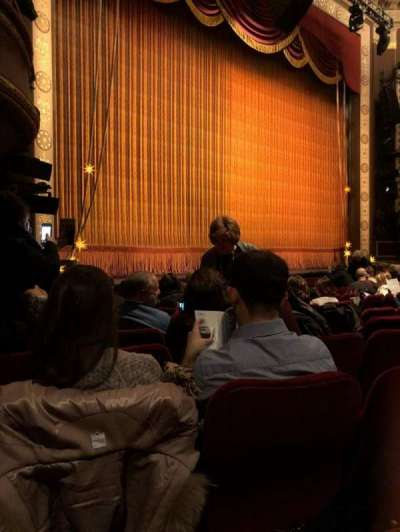 Imperial Theatre, vak: Orch, rij: K, stoel: 23