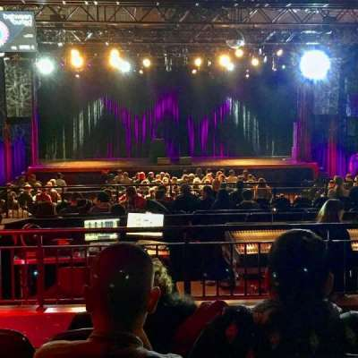 PlayStation Theater, vak: MezzC, rij: E, stoel: 103