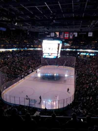Nationwide Arena, vak: 223, rij: F, stoel: 5