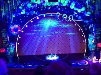 Palace Theatre (Broadway), vak: Mezz, rij: B, stoel: 106