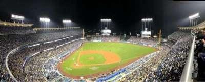 Dodger Stadium, vak: 12TD, rij: A, stoel: 2