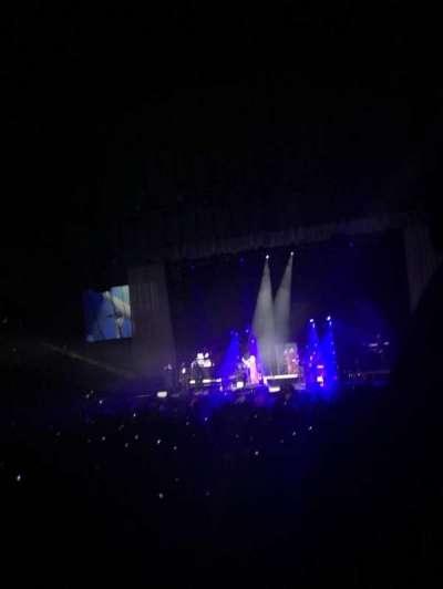 Royal Farms Arena, vak: 116, rij: L, stoel: 2