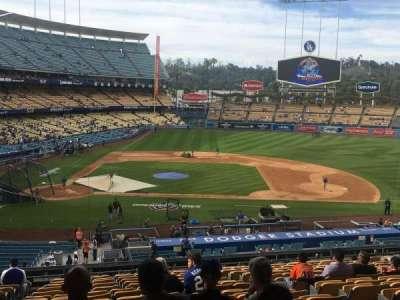 Dodger Stadium, vak: 128LG