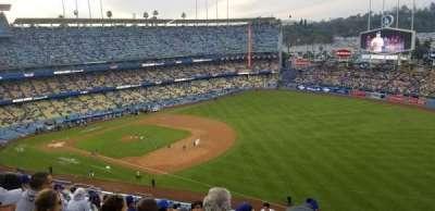 Dodger Stadium, vak: 36RS, rij: T, stoel: 20