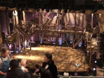 Richard Rodgers Theatre, vak: Rear Mezzanine, rij: E, stoel: 112