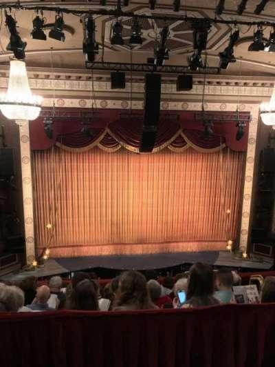 Imperial Theatre, vak: Rear Mezzanine, Section 3, rij: A, stoel: 14