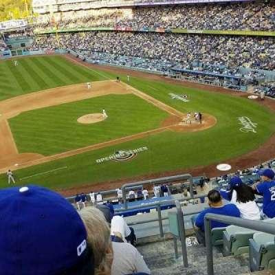 Dodger Stadium, vak: 19RS, rij: H, stoel: 2