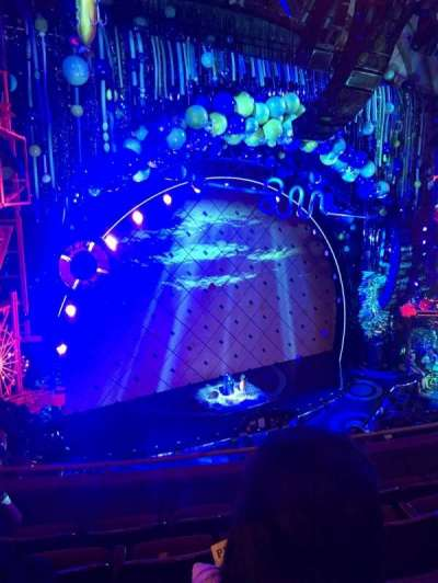 Palace Theatre (Broadway), vak: Mezzanine, rij: D, stoel: 117